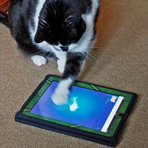 ¿Quiere compartir la tablet con su gato? Prepárese porque las mascotas son el nuevo público de las apps