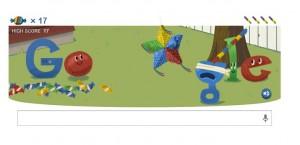 Google celebra su 15 cumpleaños con una piñata