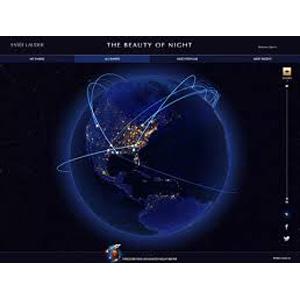 Estée Lauder crea un mapa virtual sobre las rutinas nocturnas de belleza