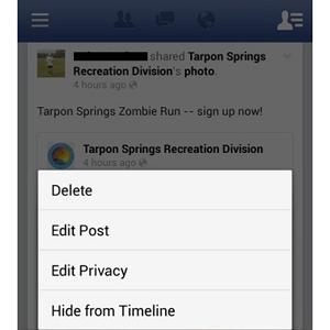 Facebook habilita la opción de editar los post ya publicados