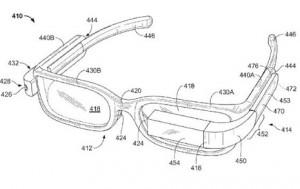 Una patente muestra un modelo de Google Glass con las que su portador no parecerá un cyborg