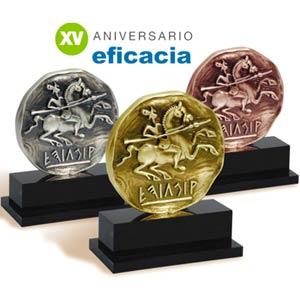 Elegidos los 74 finalistas para la XV edición de los Premios a la Eficacia