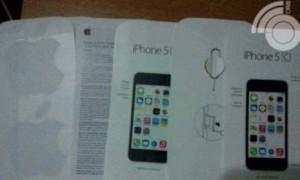 Se filtran las imágenes de un supuesto manual de instrucciones del iPhone 5C