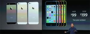Apple presenta el iPhone 5S y 5C en un evento que dejó fríos a todos