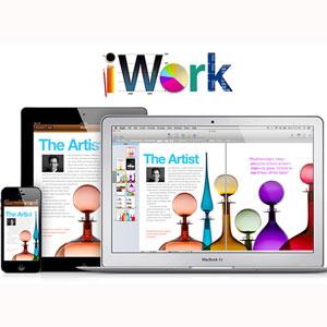 El iWork será gratuito para los usuarios de iOS 7