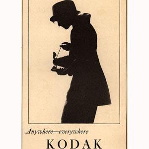 10 anuncios vintage de Kodak  que le transportarán a principios del siglo XX