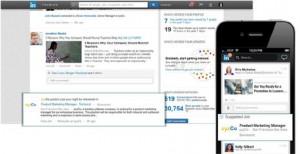 LinkedIn halla una nueva veta publicitaria en los
