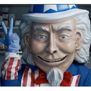 Un siniestro Tío Sam protagoniza la campaña conservadora para desprestigiar el Obamacare
