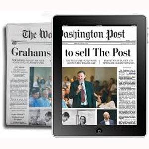 Bezos desvela su estrategia para hacer del Washington Post una publicación puntera