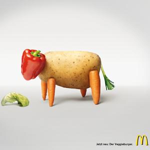 McDonald's quiere hacernos comer frutas y verduras con sus menús