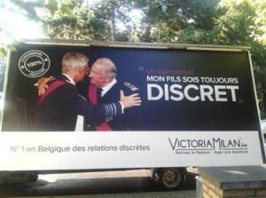 La monarquía belga se irrita tras protagonizar la campaña de una web de encuentros adúlteros