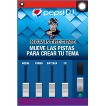 Pepsi convierte a los usuarios móviles en DJ
