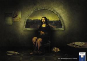 21 anuncios tan misteriosos como la sonrisa de la Mona Lisa