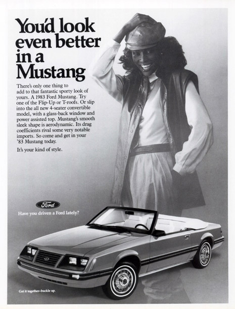 1993 Ford Mustang Advertisment