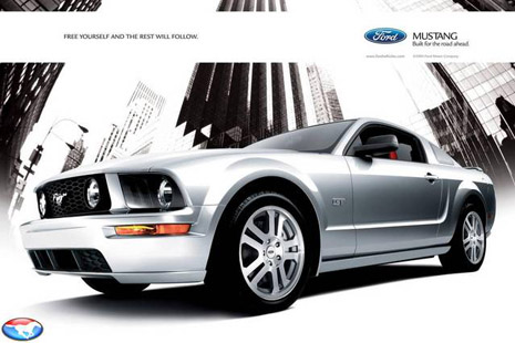 2005 Ford Mustang Ad