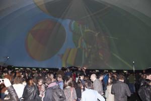 The Blend presentó en España la nueva X-Box One de Microsoft con una cúpula gigante en Colón de 500 m2