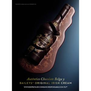 Diageo traslada toda la exclusividad de Baileys Chocolat Luxe en su campaña de lanzamiento