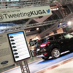En Estocolmo, hay un coche Ford que tuitea