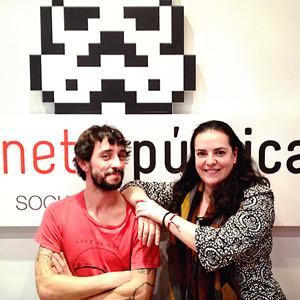 Internet República incorpora a Javier García Nieto y Marta Carnero a su equipo de social media