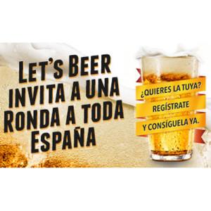LET'S BEER! invita a una ronda a toda España