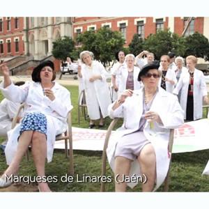 Más de 700 personas mayores de Sanitas Residencial participan en la grabación de un vídeo LIPDUB