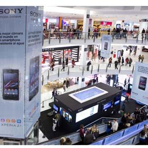 Comunica+A diseña un nuevo concepto de espacio Sony donde experimentar la tecnología bajo el agua