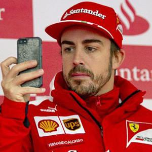 Ferrari le restringe el Twitter a Fernando Alonso