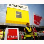 Trabajadores de Amazon se manifiestan con el fin de mejorar sus condiciones laborales