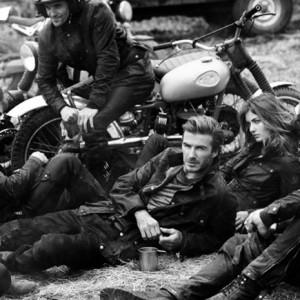 David Beckham saca a relucir su lado más motero en una campaña para Belstaff