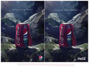 Pepsi y Coca-Cola enzarzadas en una batalla publicitaria con motivo de Halloween