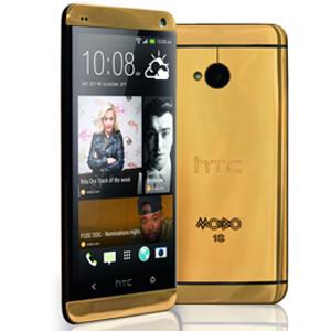 Llega el HTC One acabado en oro