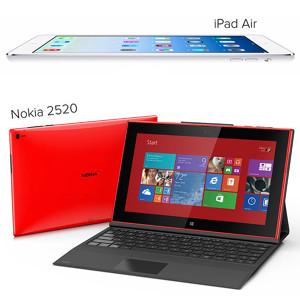 Nokia trata de vender su nueva tablet haciendo burla al iPad