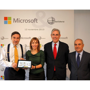 Unidad Editorial y Microsoft amplían las opciones de consumo de contenidos digitales