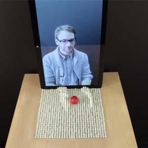El MIT inventa una display que permite interactuar con objetos