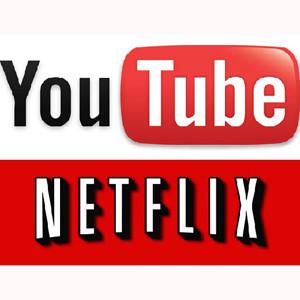 Netflix y YouTube se llevan el 50% del tráfico downstream de la web