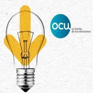 Los consumidores suspenden a las grandes empresas de electricidad y gas, según la OCU
