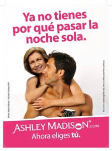 Rajoy le pone los cuernos a España con Merkel en un anuncio de la web para adúlteros Victoria Milan
