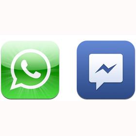 Facebook pretende hacer sombra a WhatsApp con su servicio de mensajería, ¿lo conseguirá?