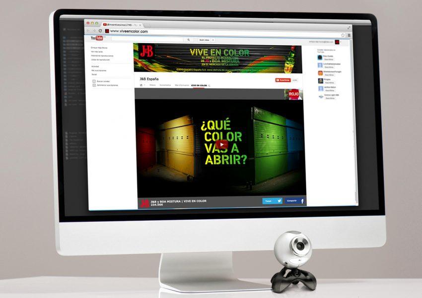 FullSIX lanza una experiencia digital para J&B basada en optimismo y color
