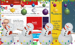 Así se exprimen las neuronas las agencias en Navidad: las mejores felicitaciones navideñas de 2013