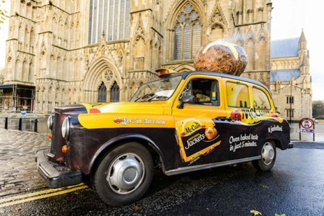 McCain Creates the World's First Potato Scented Taxi