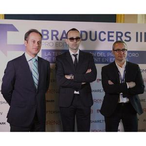 Branducers III David Colomer, Risto Mejide y Marc Ros