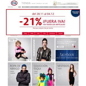 C&A confía en las estrategias de marketing online de Public-Ideas