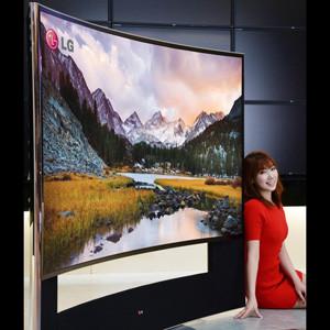 Samsung y LG presentarán para el CES 2014 de Las Vegas, sus televisores curvos Ultra HD de 105 pulgadas