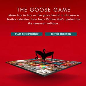 Louis Vuitton crea un juego interactivo para elegir el mejor regalo esta Navidad