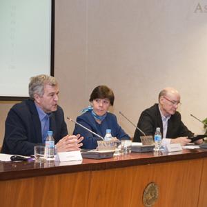 Luis Palaciao, Carmen del Riego y David Corral