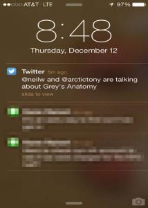 Twitter empieza a enviar alertas cuando sus amigos hablan de sus programas favoritos