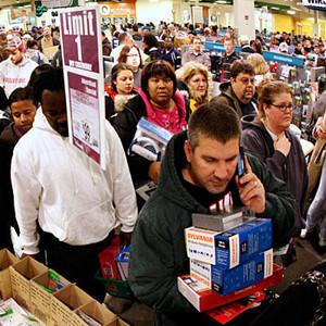 Las ventas en el Black Friday norteamericano aumentaron un 15%, hasta 1.198 millones de dólares en EE.UU.
