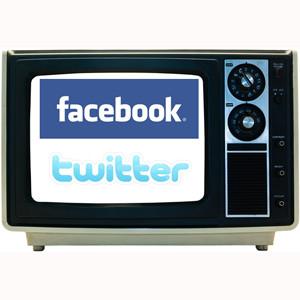 Facebook y Twitter luchan por atraer inversión publicitaria televisiva, ¿quién ganará?