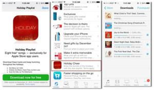 Apple lanza una playlist llamada 'Holiday Cheer' con 8 canciones navideñas gratuitas